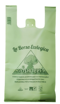 shopper-compostabil-verde