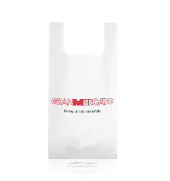 Compostable shoppers 2 colors