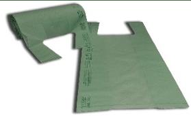 rouleau vert compostable shopper
